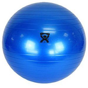 CanDo Non-Slip Vinyl Inflatable Exercise Ball