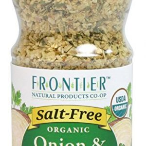 Frontier Salt Free Organic Seasoning, Onion and Herb