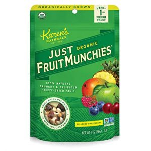 Organic Just Fruit Munchies