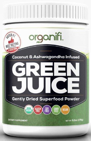 Green Juice Super Food Supplement
