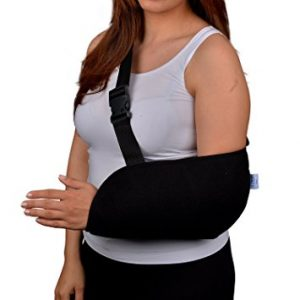 Arm Sling with Soft Padded Shoulder Strap