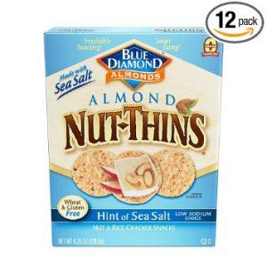 Blue Diamond Gluten Free Almond NutThins