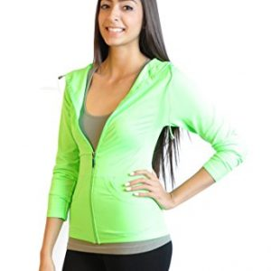 Active Hoodie Sports Warm Up Track Jacket