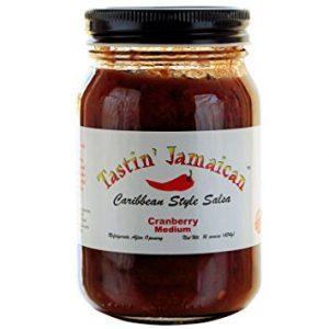 Cranberry Medium Caribbean Style Salsa