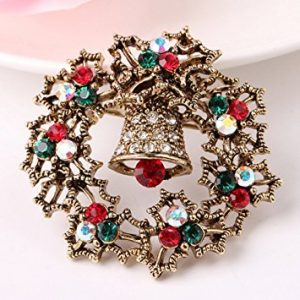 Decor Flower Christmas Pins Brooch