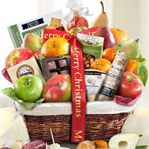 Gourmet Abundance Fruit Gift Basket