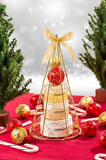 Christmas tree bath and body perfumed gift set
