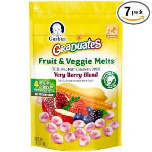 Fruit and Veggie, Melts Very Berry Blend