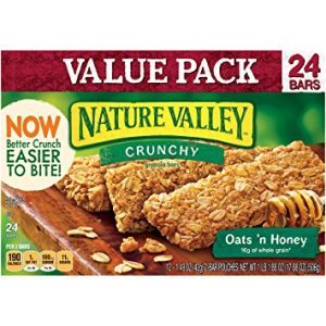 Granola Bars, Crunchy, Oats 'n Honey