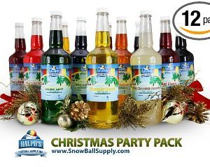 Christmas Party Punch Syrup Pack
