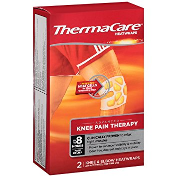 ThermaCare Knee & Elbow Pain Therapy Heatwraps