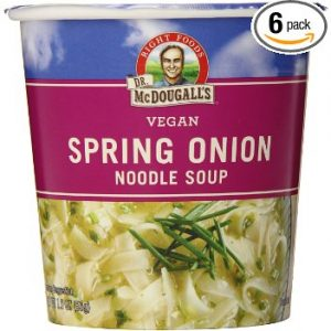 Right Foods Vegan Spring Onion Noodle Soup