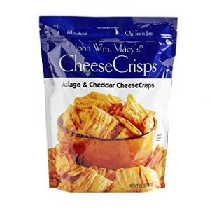 John Wm Macy's Asiago and Cheddar CheeseCrisps