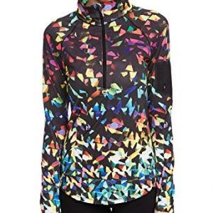 icyzone Women's Workout Yoga Track Jacket