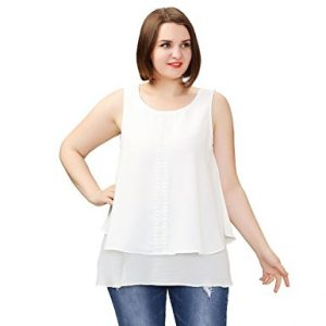 TM Plus Size Casual Loose Fit Tunic