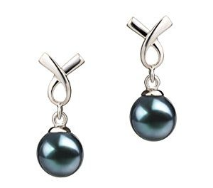 Sterling Silver Cultured Pearl Earring