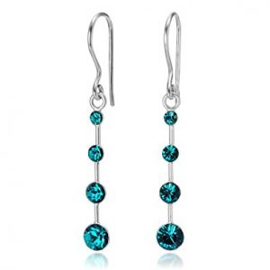 Crystal Drop Dangle Hook Earrings