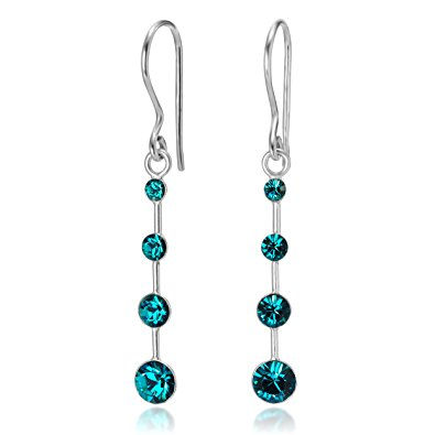 Crystal Drop Dangle Hook Earrings