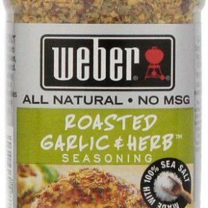 Weber Seasoning, Roasted Garlic and Herb