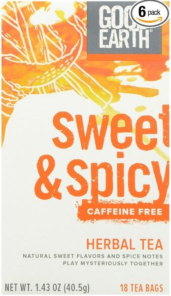 Sweet & Spicy Caffeine Free Herbal Tea
