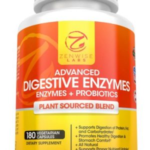 Digestive Enzymes With Prebiotics & Probiotics