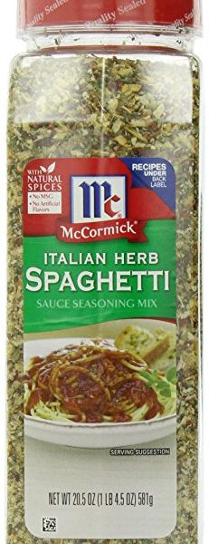 McCormick Italian Herb Spaghetti Sauce