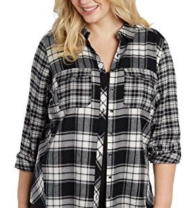 Maurices Women's Plus Size Button