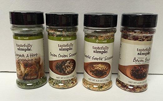 Tastefully Simple 4 Spice Set