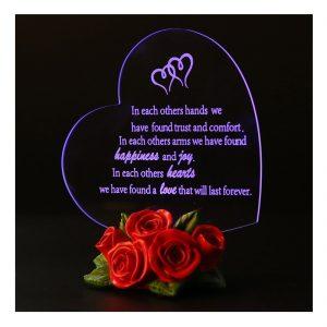 Gift Garden Heart Shaped LED Light