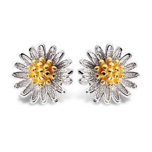 Jewelry Earrings Stud 18k Gold-plated