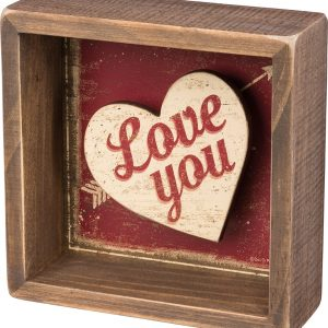 Box Sign - Love You