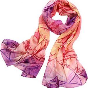 Elegant Luxury Fashion 100% Silk Scarf