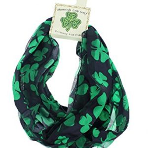 Satin Irish St. Patrick's Day Shamrock