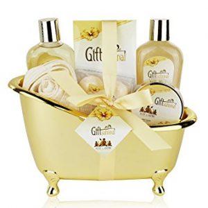 Spa Gift Basket with Sensual Rose & Jasmine