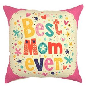 YOUR SMILE Mother's day Cotton Linen Square