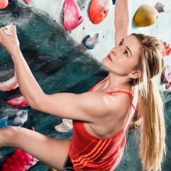 Professional Rock Climber Shauna Coxsey Reveals Her Workout, Diet and Success Story