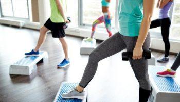 step aerobics