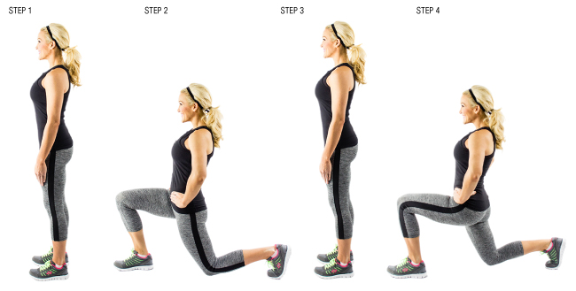 Lunges Quot The Queen Of Exercises Quot For Women Women Fitness