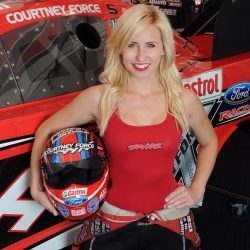 Courtney Force: Funny Car Drag Racer, Three-Time National NHRA Event Winner Reveals Her Exercise, Diet and Beauty Secrets