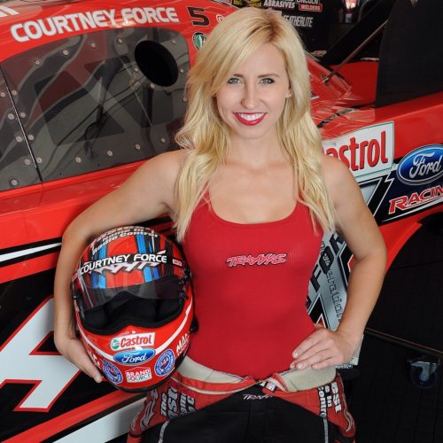 courtney force funny car drag racer threetime national