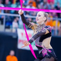 Take A Stroll Down Olympic Bronze Medalist Rhythmic Gymnast Marta Pagnini's Journey