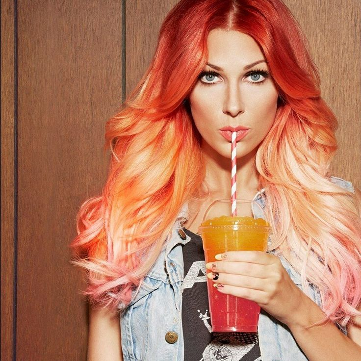 orange hair