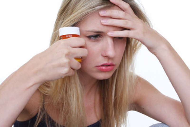 Substance Abuse Weight Loss Women Fitness