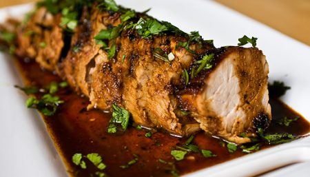 Lime Pork Tenderloin