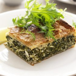 Spinach And Cottage Cheese Timbale