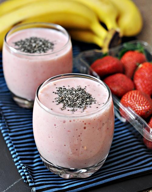 Strawberry Chia Smoothie