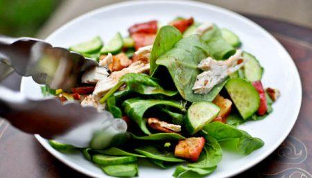Chicken Spinach Apple