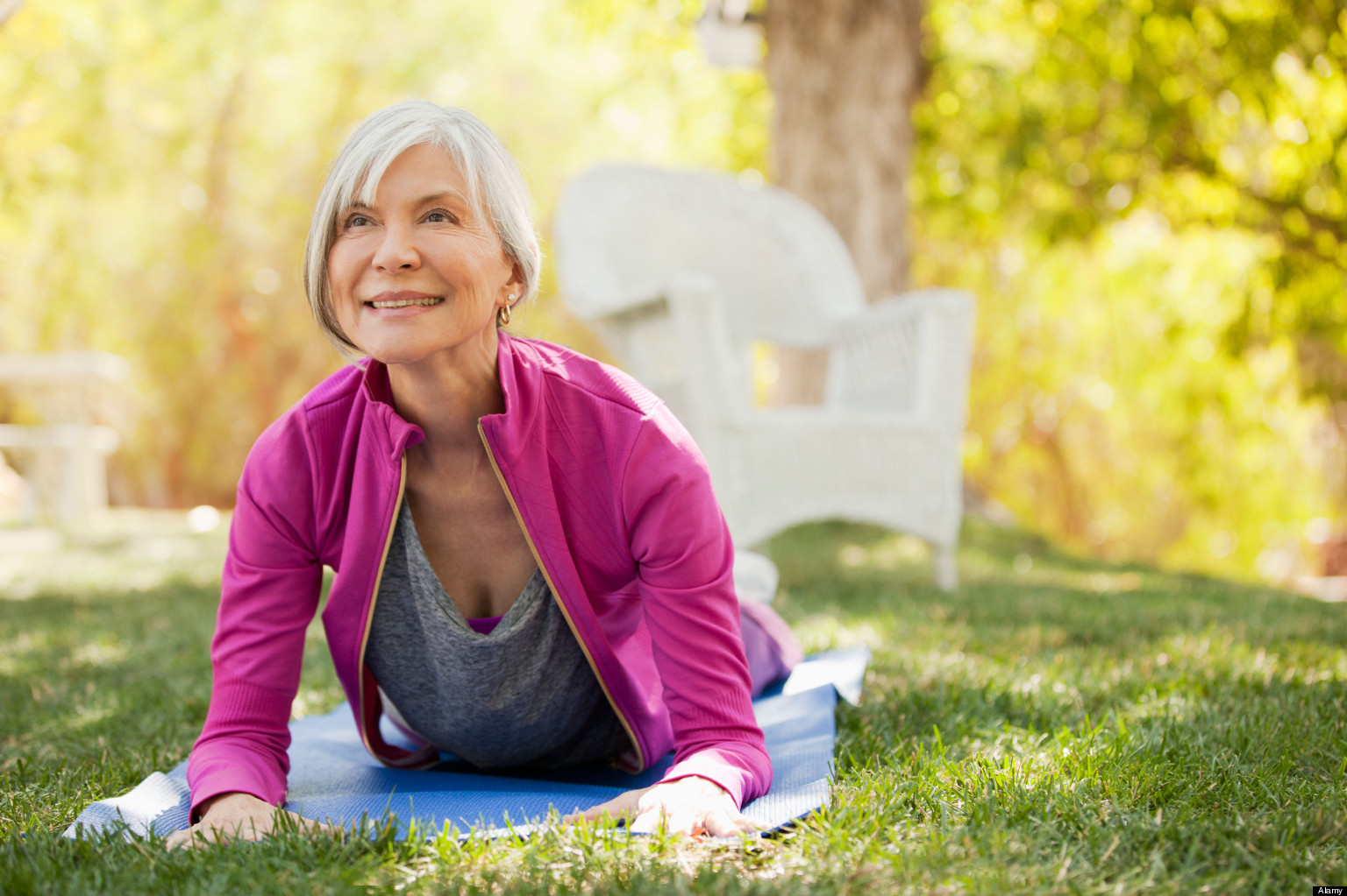 Benefits of Yoga For Seniors - Women Fitness