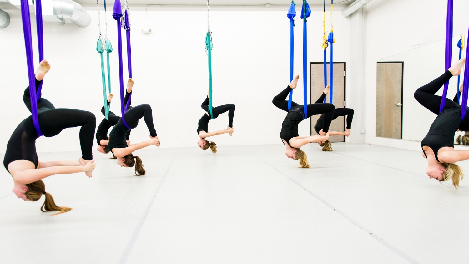Aerial Yoga: An Experiment With Yoga - Women Fitness