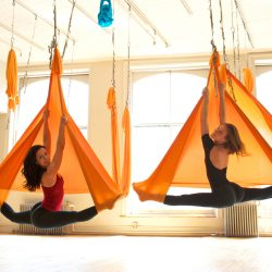 Aerial Yoga: An Experiment With Yoga
